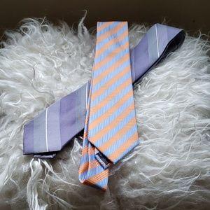 Calvin Klein Accessories - Lot of 2 Mens Ties